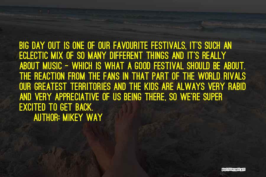 About Being Different Quotes By Mikey Way
