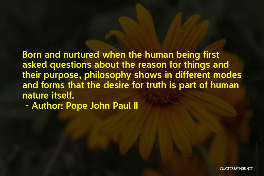 About Being Different Quotes By Pope John Paul II