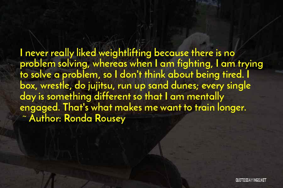 About Being Different Quotes By Ronda Rousey
