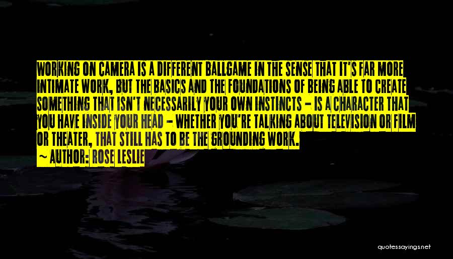 About Being Different Quotes By Rose Leslie
