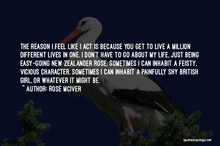 About Being Different Quotes By Rose McIver