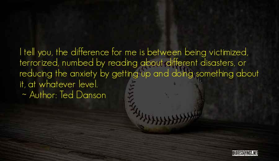 About Being Different Quotes By Ted Danson