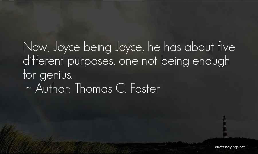 About Being Different Quotes By Thomas C. Foster