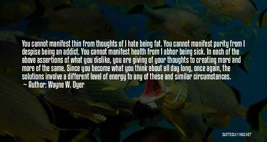 About Being Different Quotes By Wayne W. Dyer