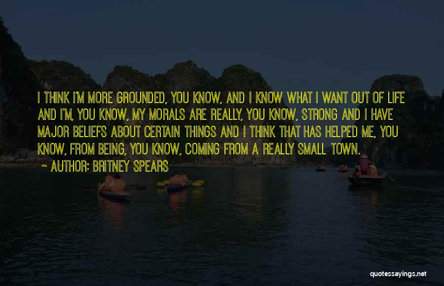 About Being Strong Quotes By Britney Spears