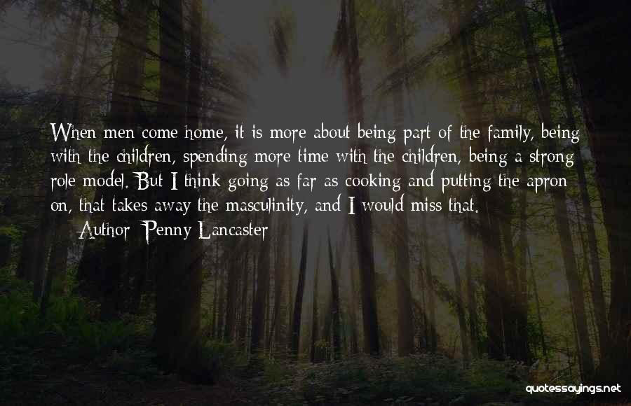 About Being Strong Quotes By Penny Lancaster