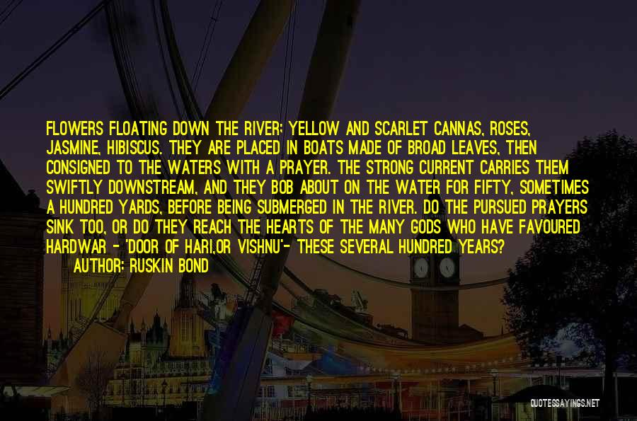 About Being Strong Quotes By Ruskin Bond