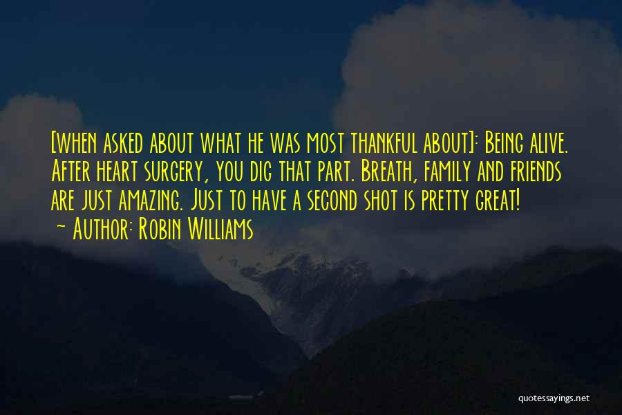 About Being Thankful Quotes By Robin Williams