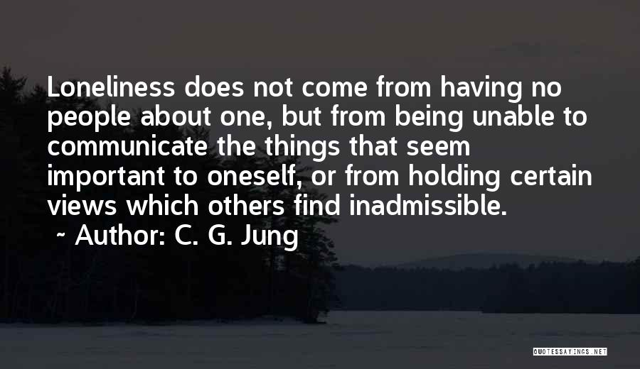 About Oneself Quotes By C. G. Jung