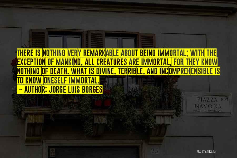 About Oneself Quotes By Jorge Luis Borges