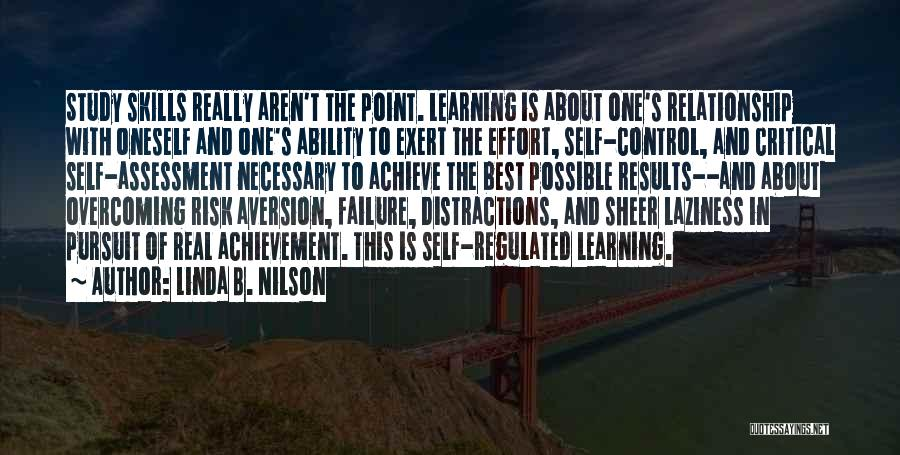 About Oneself Quotes By Linda B. Nilson