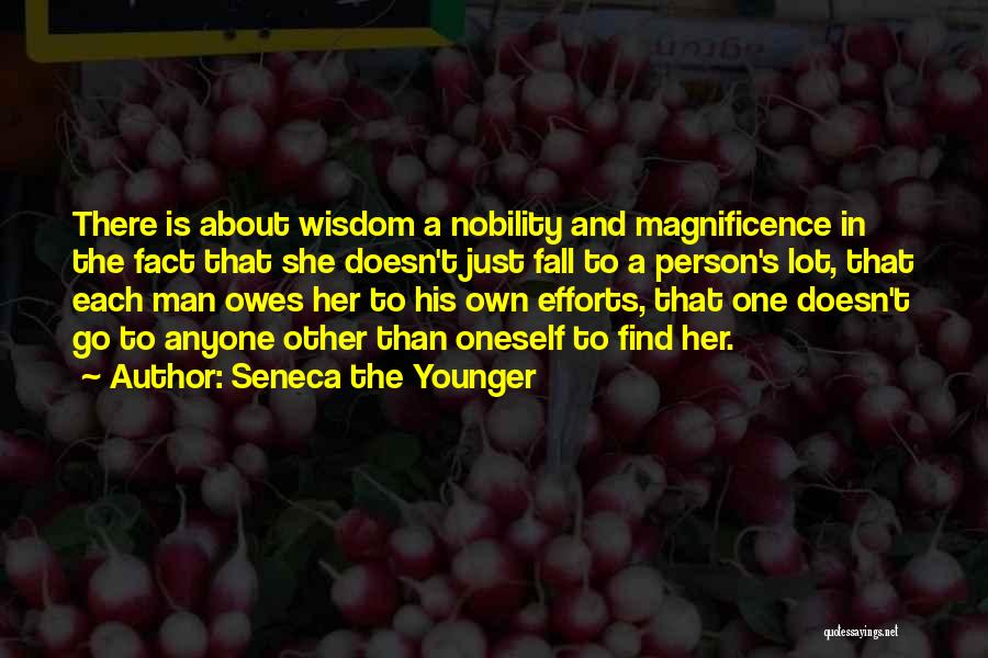 About Oneself Quotes By Seneca The Younger