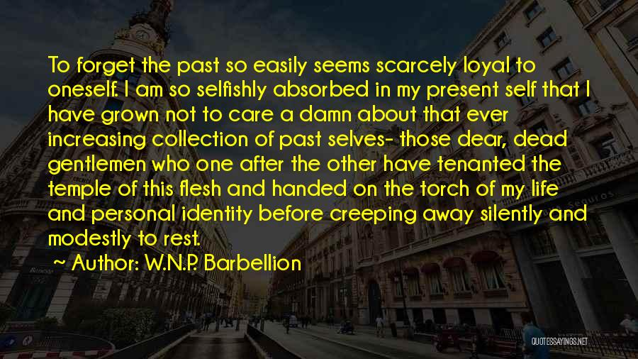 About Oneself Quotes By W.N.P. Barbellion