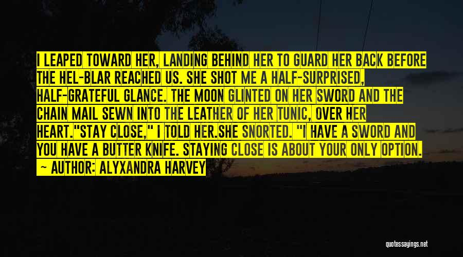 About The Moon Quotes By Alyxandra Harvey