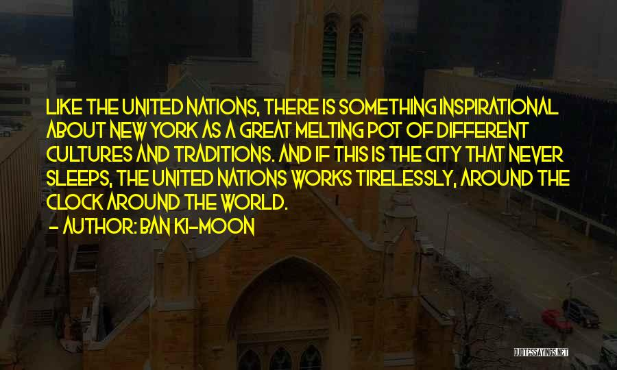 About The Moon Quotes By Ban Ki-moon