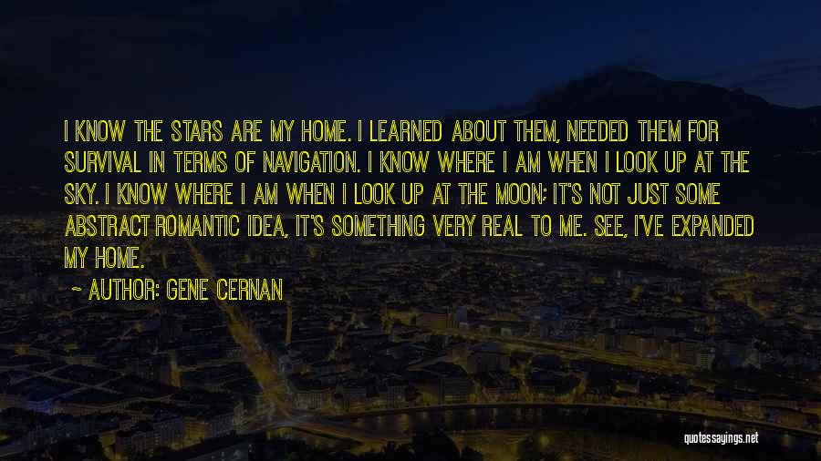 About The Moon Quotes By Gene Cernan