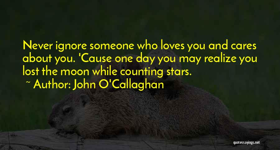 About The Moon Quotes By John O'Callaghan