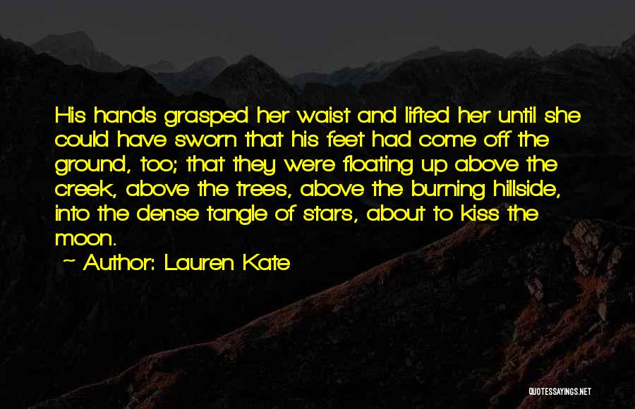 About The Moon Quotes By Lauren Kate