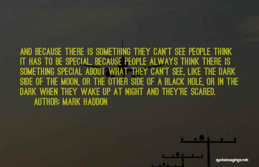 About The Moon Quotes By Mark Haddon