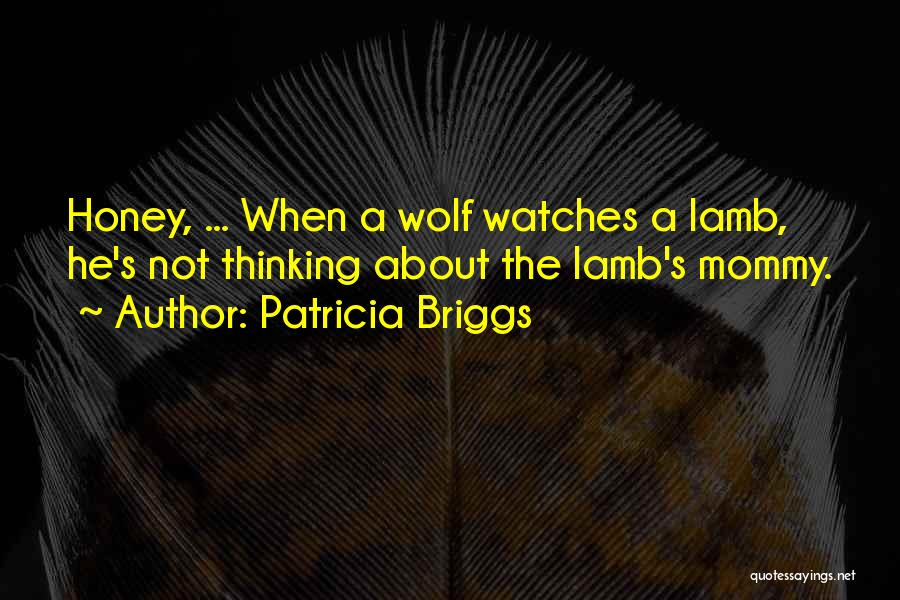 About The Moon Quotes By Patricia Briggs
