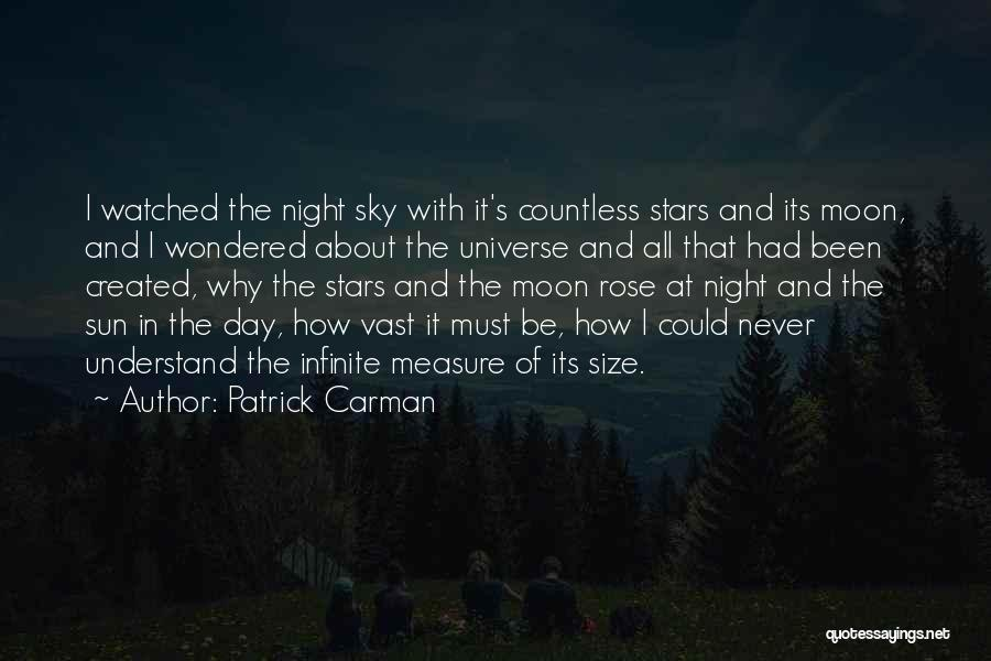 About The Moon Quotes By Patrick Carman