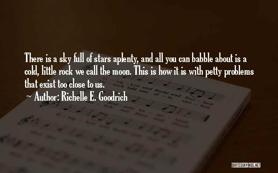 About The Moon Quotes By Richelle E. Goodrich