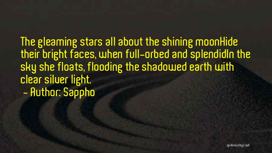 About The Moon Quotes By Sappho