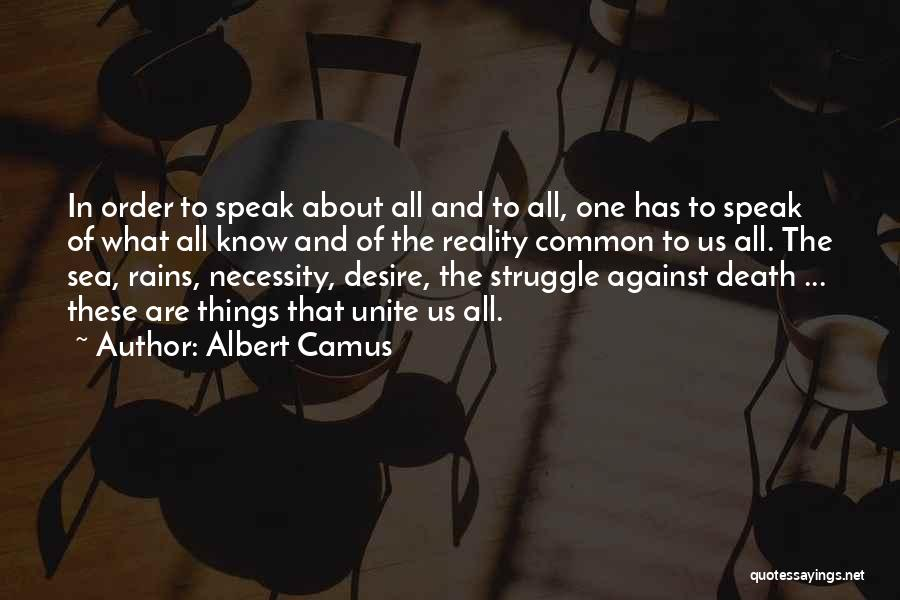 About The Sea Quotes By Albert Camus