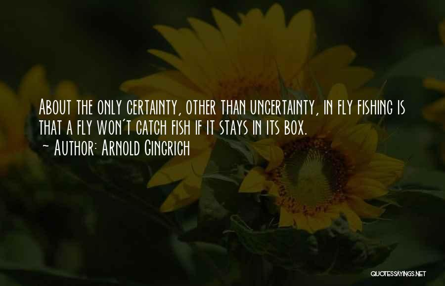 About The Sea Quotes By Arnold Gingrich