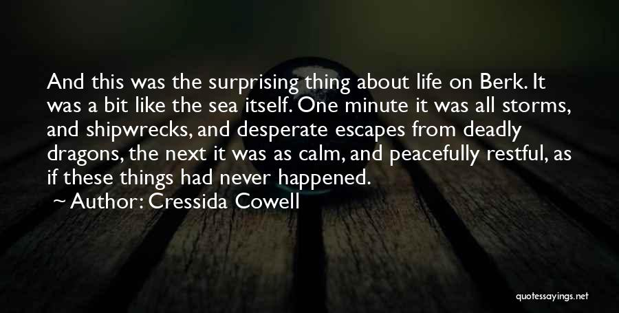 About The Sea Quotes By Cressida Cowell