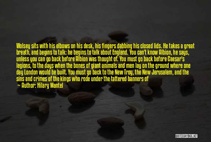 About The Sea Quotes By Hilary Mantel