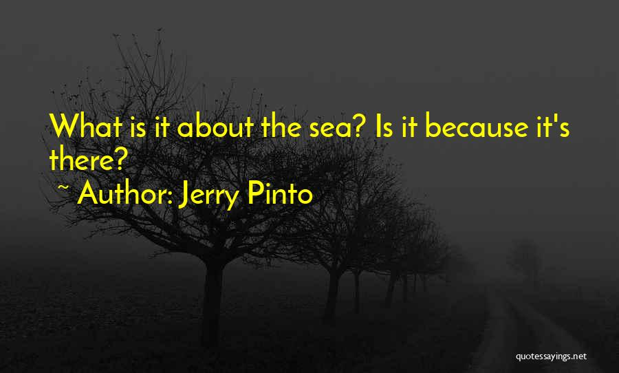 About The Sea Quotes By Jerry Pinto