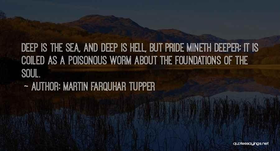 About The Sea Quotes By Martin Farquhar Tupper