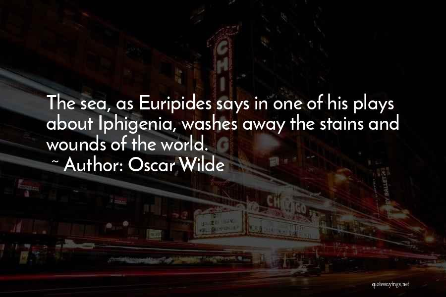 About The Sea Quotes By Oscar Wilde