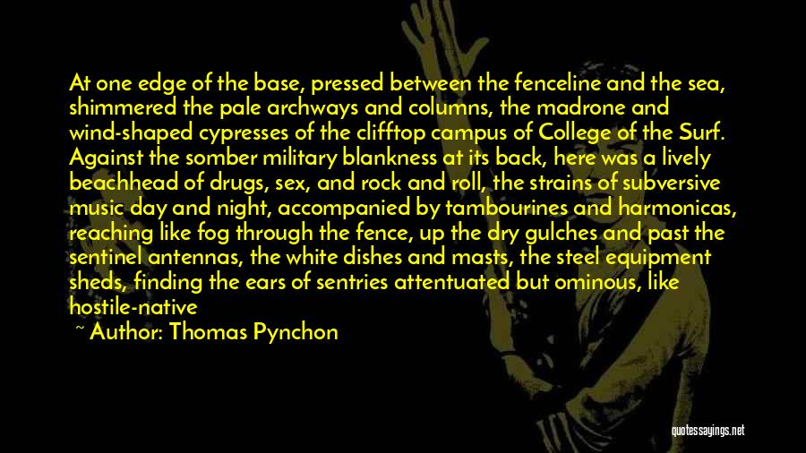 About The Sea Quotes By Thomas Pynchon