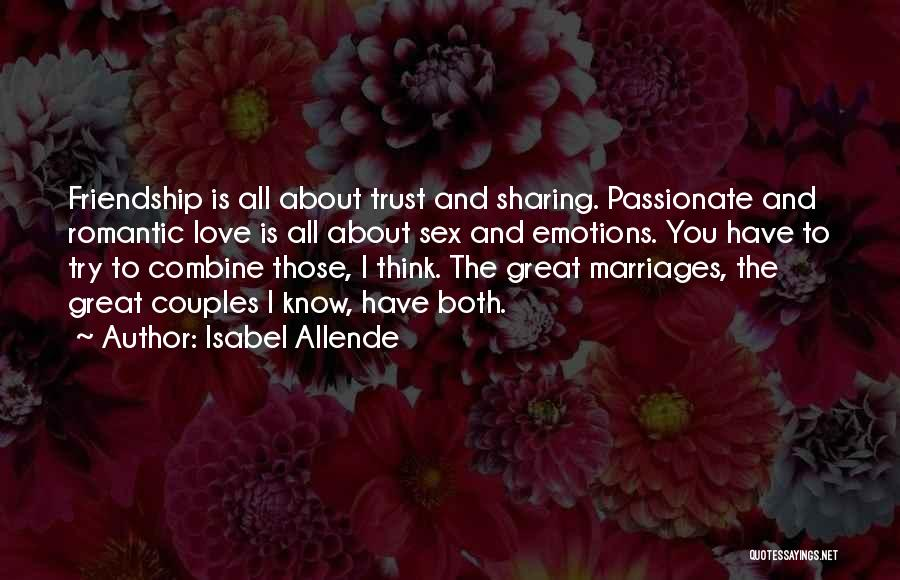 About You Love Quotes By Isabel Allende