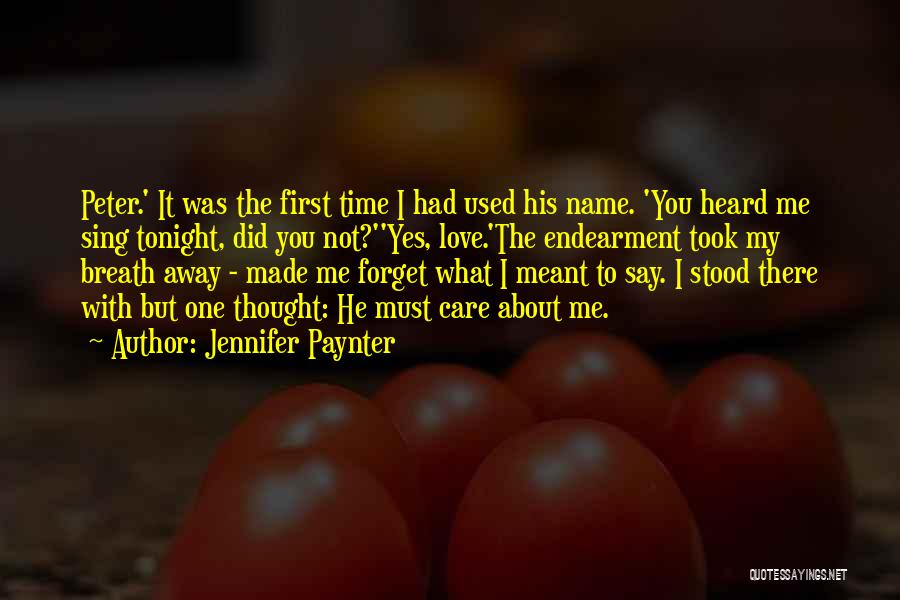 About You Love Quotes By Jennifer Paynter