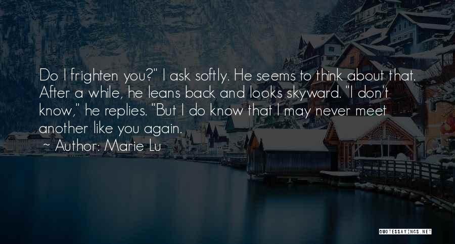About You Love Quotes By Marie Lu