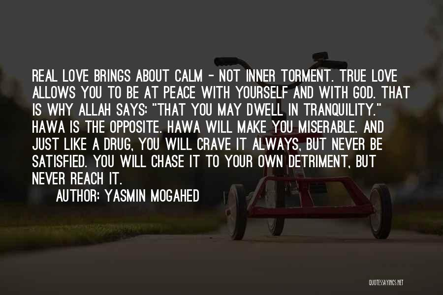 About You Love Quotes By Yasmin Mogahed