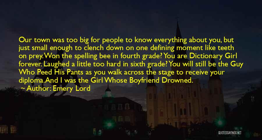 About Your Boyfriend Quotes By Emery Lord