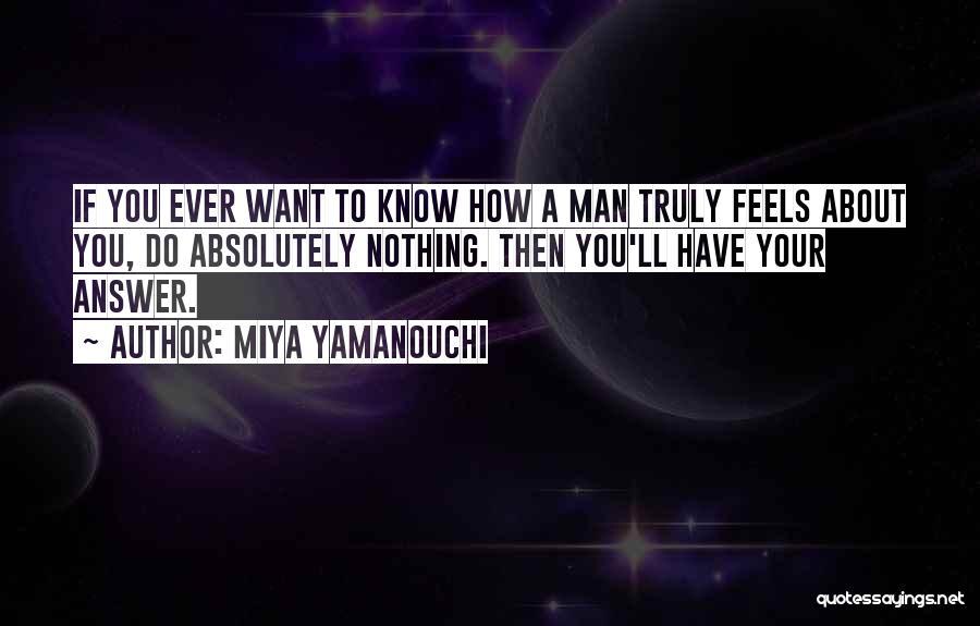 About Your Boyfriend Quotes By Miya Yamanouchi