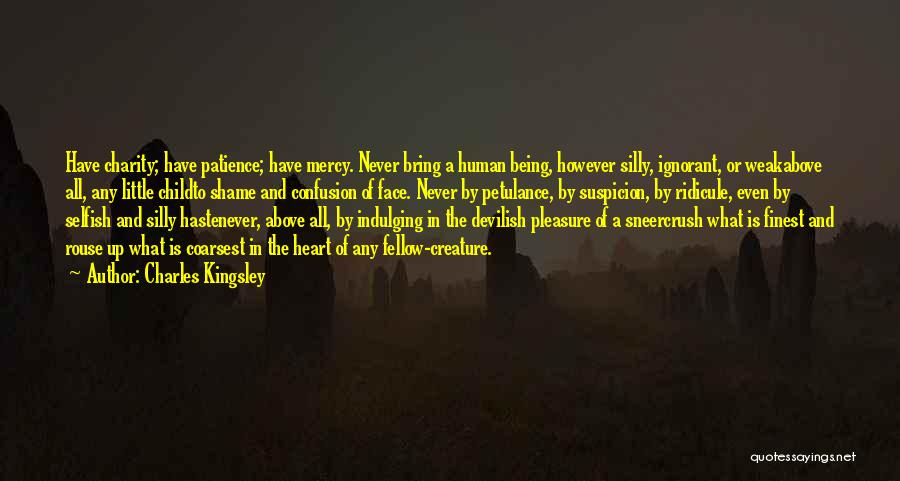 Above Suspicion Quotes By Charles Kingsley