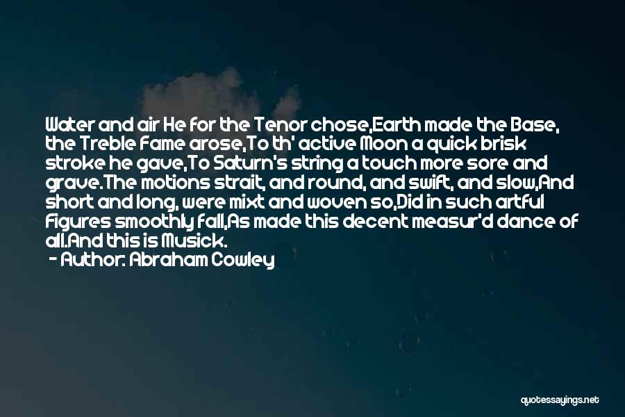 Abraham Cowley Quotes 1063885