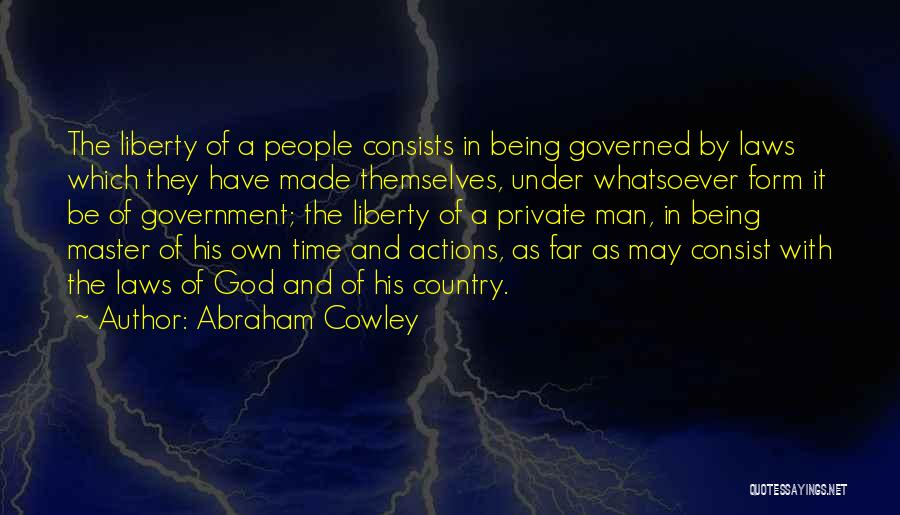 Abraham Cowley Quotes 110554