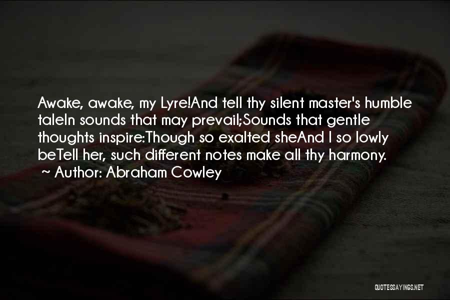 Abraham Cowley Quotes 1234221