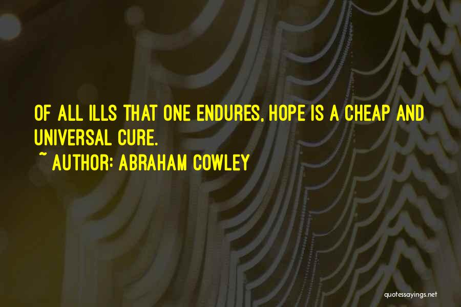 Abraham Cowley Quotes 1827610