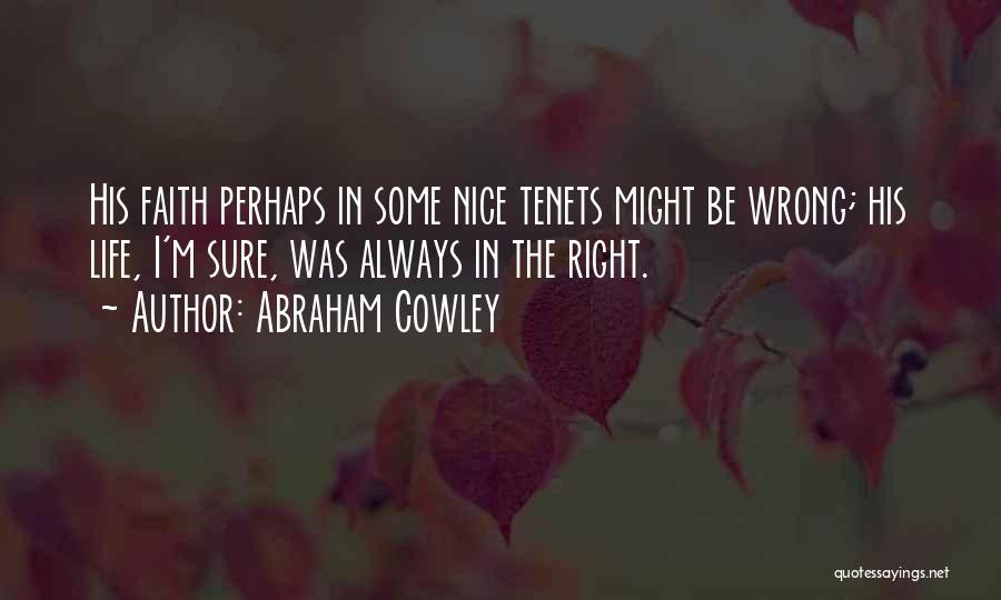 Abraham Cowley Quotes 329479