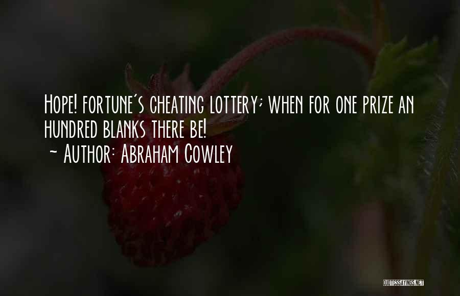 Abraham Cowley Quotes 718927
