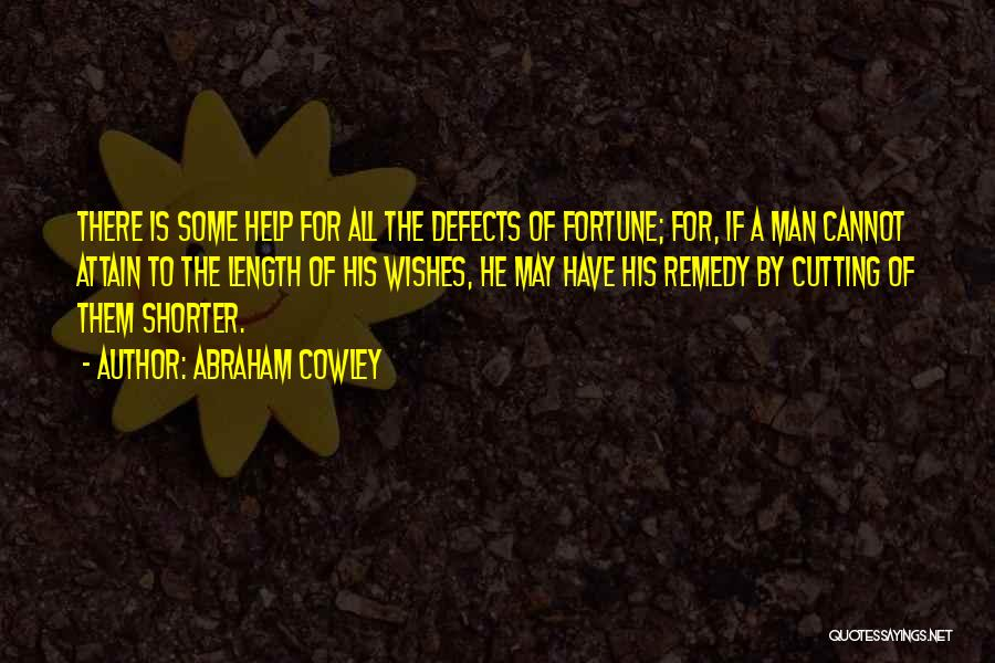 Abraham Cowley Quotes 757076