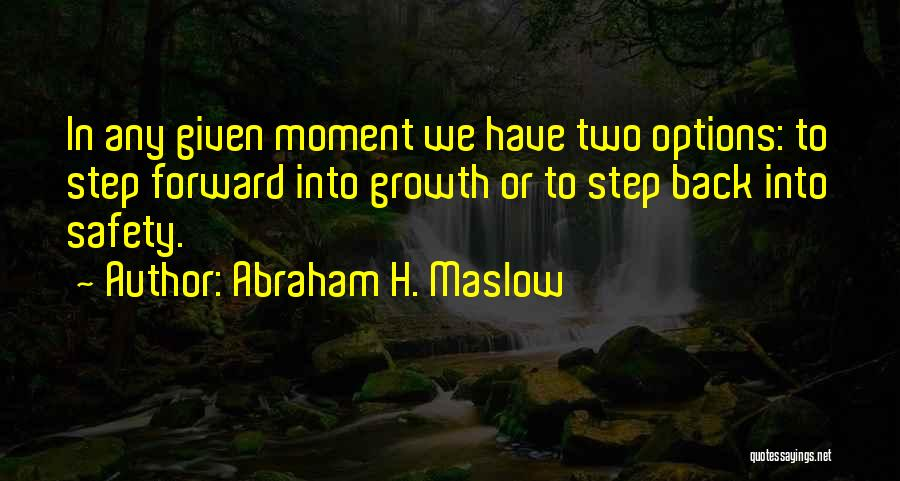 Abraham H. Maslow Quotes 1811331
